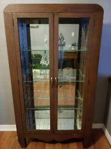 Antique China cabinet $150 OBO