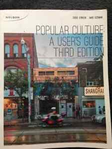 Popular Culture: A users guide third edition. HUM1190