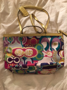 POPPY X COACH Tote bag- Never Used!