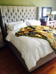 King Size Marcantonio Bed (Canadian Made)