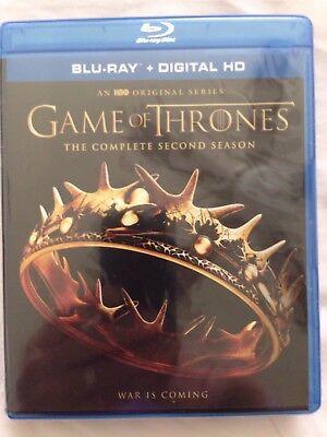 Game Of Thrones  Season 2  Blu Ray   New  Free Shipping
