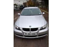 2005 ( 05 ) BMW 320i SE SILVER, VERY LOW MILES ONLY 93K LIKE BRAND NEW INSIDE MOT 07/17