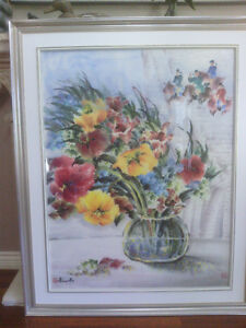 Gorgeous Original Painting by Aliana Au North Shore Greater Vancouver Area image 2