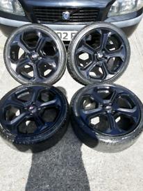 ford fiesta mk7 st st180 alloys (escort sierra orion ka puma) racing