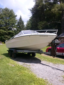 BOAT AND TRAILER-NEW PRICE