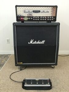 Mesa triple rectifier and Marshall 1960a lead 4x12 cab