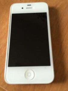 Used (excellent condition) 4s iPhone with charger