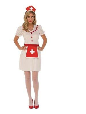 Brandneu Süß Krankenschwester Erwachsene Kostüm