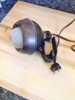 Antique Industrial Age Task Lamp