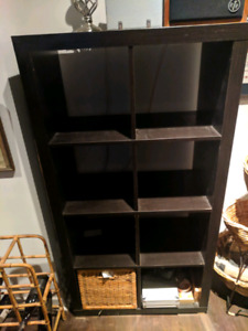 3 Ikea Expidit Shelves ( pre - Kallax ), great for records