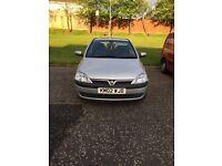 2002 Vauxhall Corsa Comfort 1.0l LONG MOT