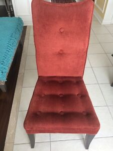 Bombay Red Parsons Chair