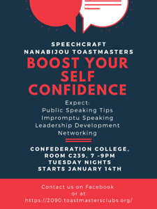 Increase Your Confidence with Speechcraft