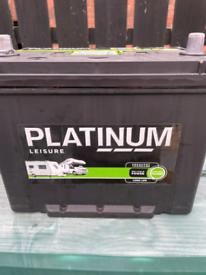 2 platinum 75ah leisure batteries