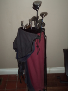 Golf Clubs and bag - Free