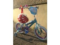Disney Frozen Girls Bike