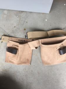 Carpenters belt.  Heavy duty.