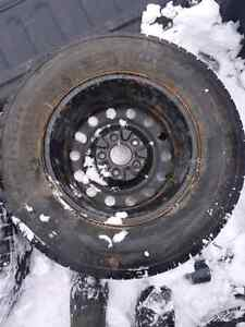 Winter rims and tires 16inch. Dodge journey.