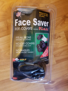 Face Saver golf club iron covers left handed