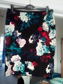 Marks & Spencer lined skirt
