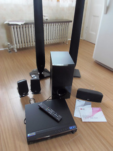 LG 3D Blu-ray DVD home theater for sale.