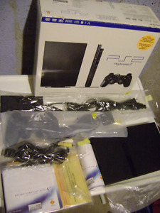 PS2 Slim C.I.B.+ 30 Games + Controllers + Memory Cards + Eyetoy