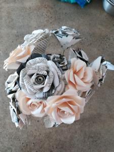 Décoration - fleurs en papier