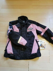 Women's HJC Snowmobile Jacket and Bib Pants Floater