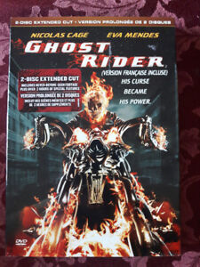Ghost Rider 2-Disc Extended Cut on DVD