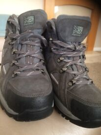 Walking boots - ladies size 5
