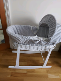 FREE moses basket good condition