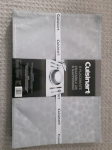 NEW 8 PK. CUISINART TABLE PLACE MATS $10.00