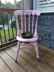 Chair Planter *Delivery Available*