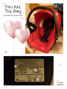 Maxi cosi infant carseat or taking the stroller tgt