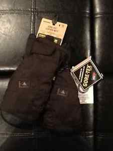 Burton Goretex Leather snowboard Mitts TRUE BLACK