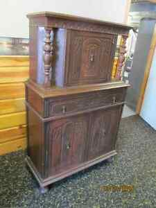 Antique Dining Cabinet - Original Condition