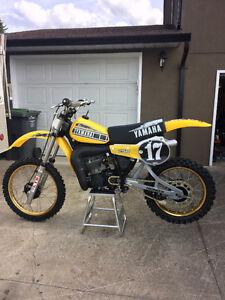 1981 Yamaha yz250