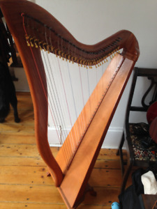 36 string Stanley Celtic Harp