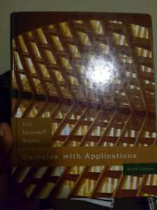 Calculus with applications 9th edition