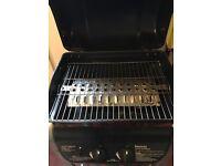 DAYTONA 2 burner gas Barbecue full gas bottle & utensils as new