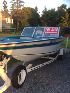 FOR SALE - 16 foot runabout with a 50 hp 4 stroke outboard