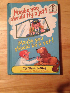 """1980 HC-Theo. LeSieg (Dr. Seuss) """"Maybe You Should Fly a Jet..."""" London Ontario image 1"""