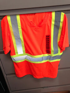 21 - High Visibility Safety Tees - Brand New 1-M, 10-L, 6-XL