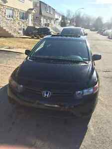 Honda Civic EX Coupe 2007 Nego , sunroof car starter extra tires