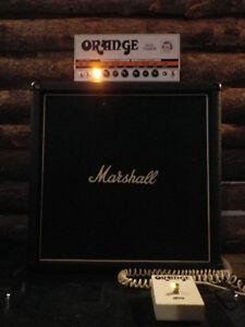 Orange Dual Terror & Marshall 1965b 4x10 (Celestion G10L-35s)