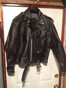 NEW First Leather Motorcycle Jacket St. John's Newfoundland image 1