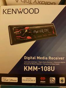 KENWOOD digital media receiver.
