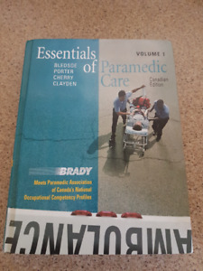 Brady Essentials of Paramedic Care 1 (Canadian) (CTS PCP)