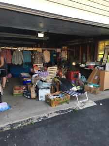 Multi-family garage / yard sale (Forest Hills, east)