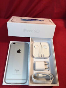 APPLE IPHONE 6S PLUS 128GB SILVER  UNLOCK MINT CONDITION